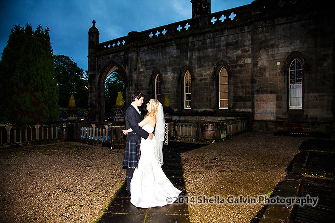 Wedding mar hall, pre-wedding photo shoot, castle semple loch lochwinnoch057